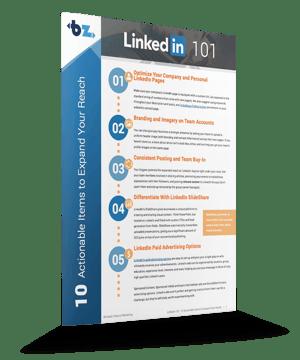 LinkedIn 101 Tipsheet