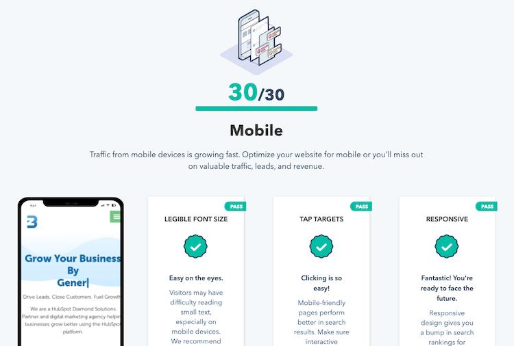 Website Grader Mobile